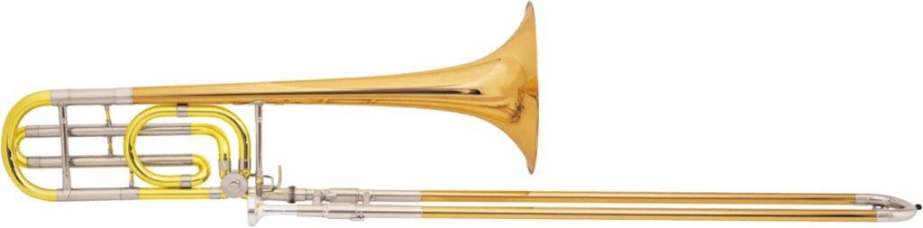 Wingates Brass Band trombone section